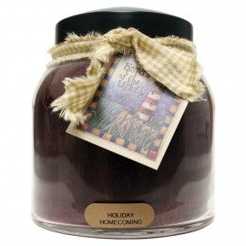 Keepers of the Light Candle- Holiday Homecoming 34 oz. Papa Jar