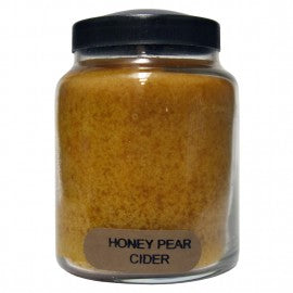 Keeper of the Light Candle- Honey Pear Cider 6 oz. Baby Jar