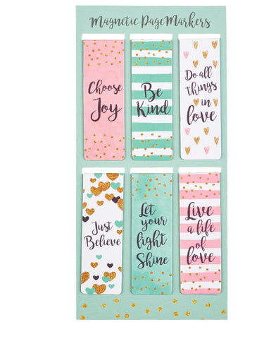 Sparkle Collection Magnetic Bookmark