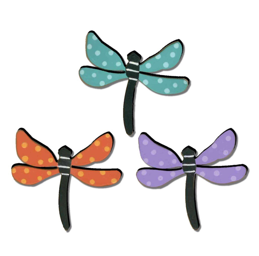 Dragonfly w/dots magnets