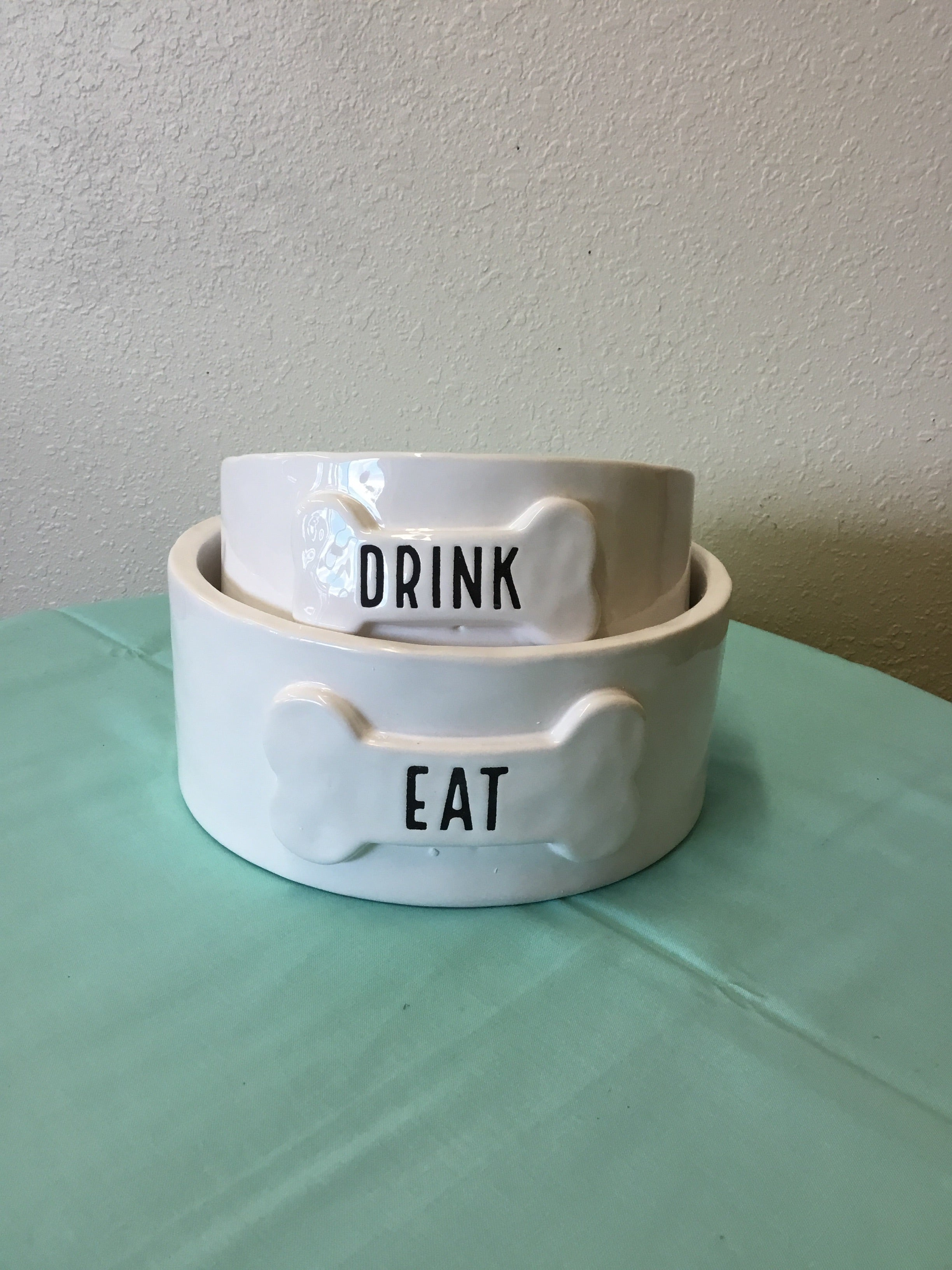 Dog bowl set of 2