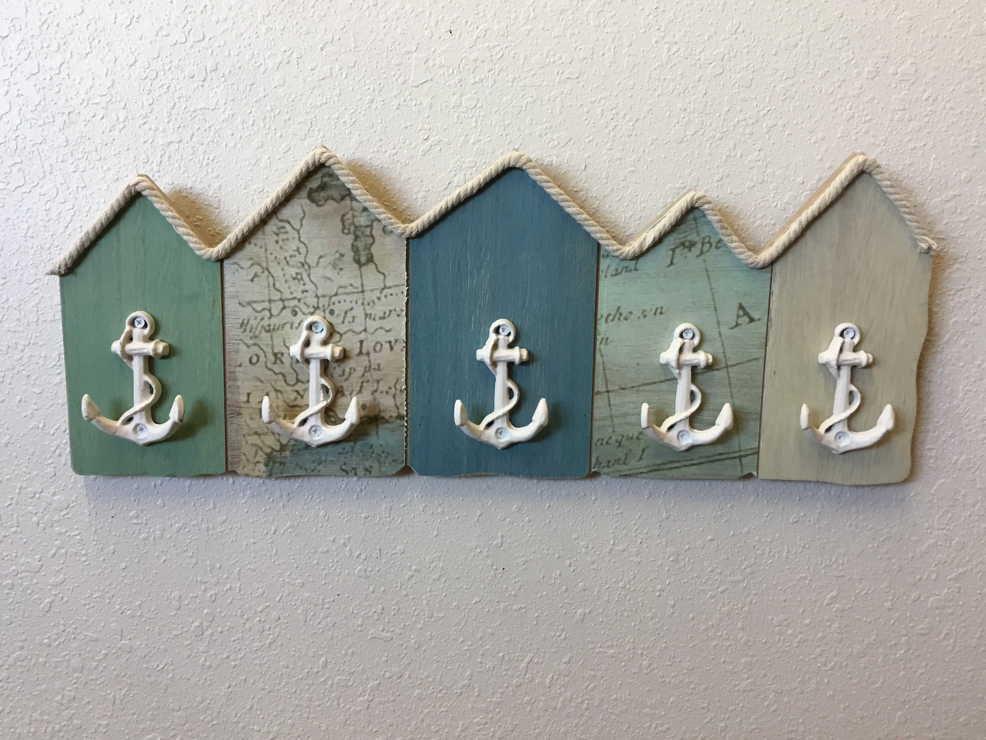 Wood Anchor Wall Hook