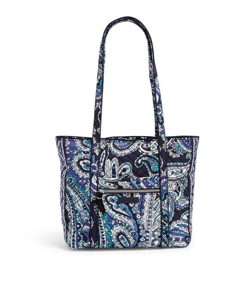 Iconic Small Vera Tote - Deep Night Paisley