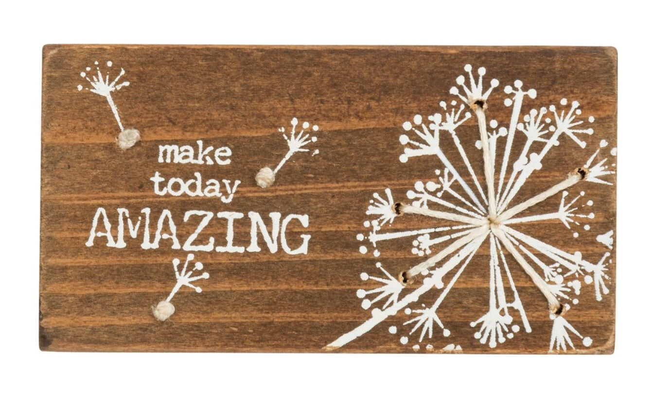 Make today amazing stick art