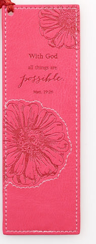 Matthew 19:26 Bookmark