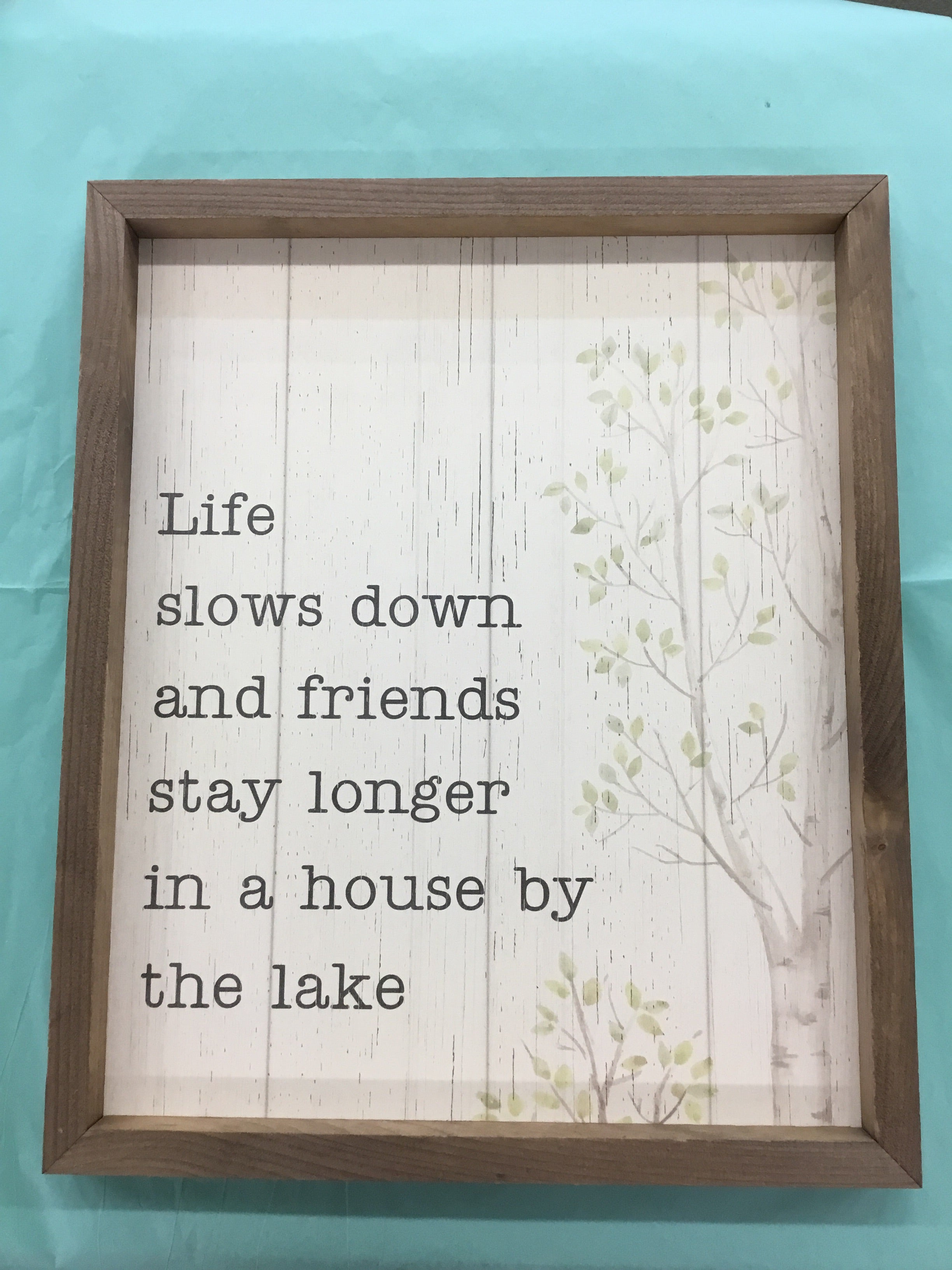 Life Slows Down