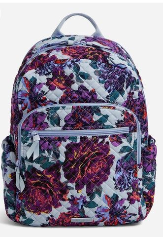 Vera Bradley Campus Backpack- Neon Blooms
