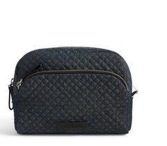 Iconic Large Cosmetic Denim Navy
