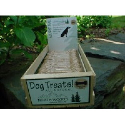 North Woods Animal Treats: Bacon and Egg Bone