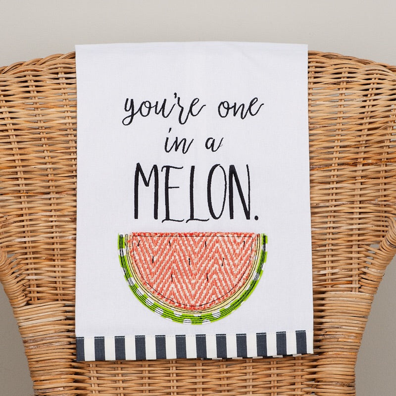 Daughters of Hope India: You're one in a melon Tea towel