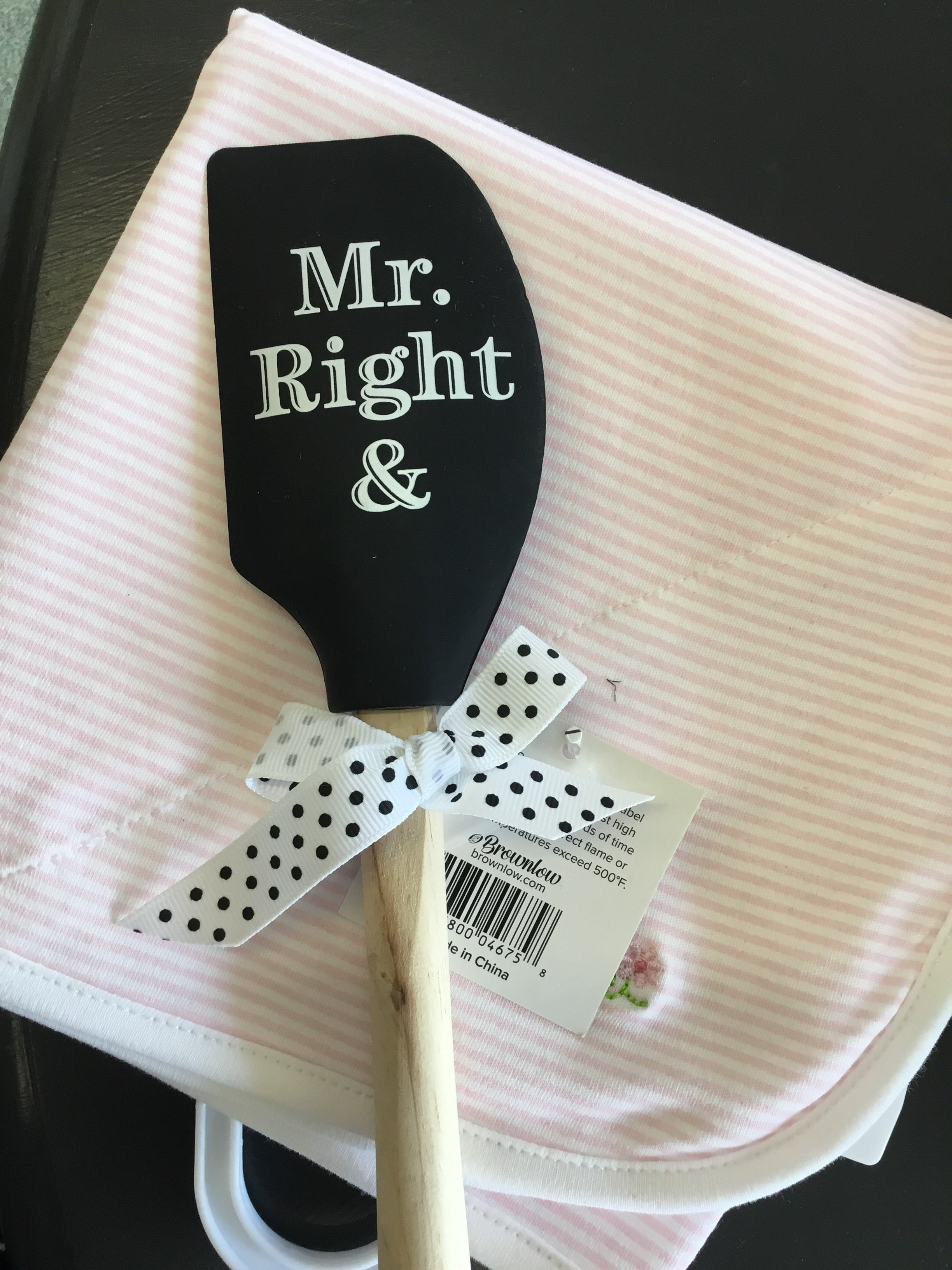 Mr.Right & Mrs.Always Right Black