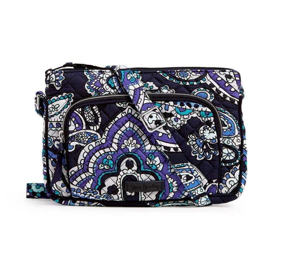 Iconic RFID Little Hipster - Deep Night Paisley