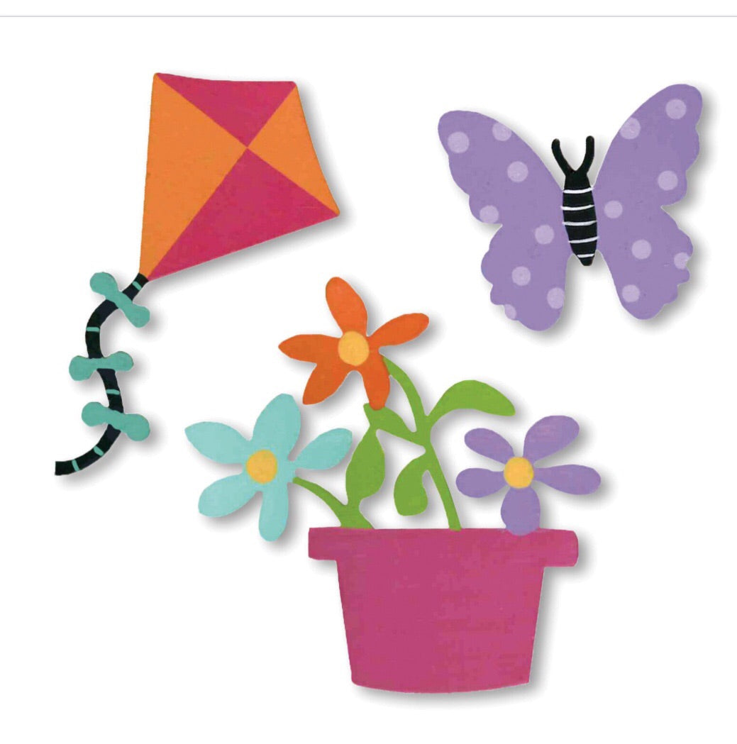 Spring/w Kite Magnets