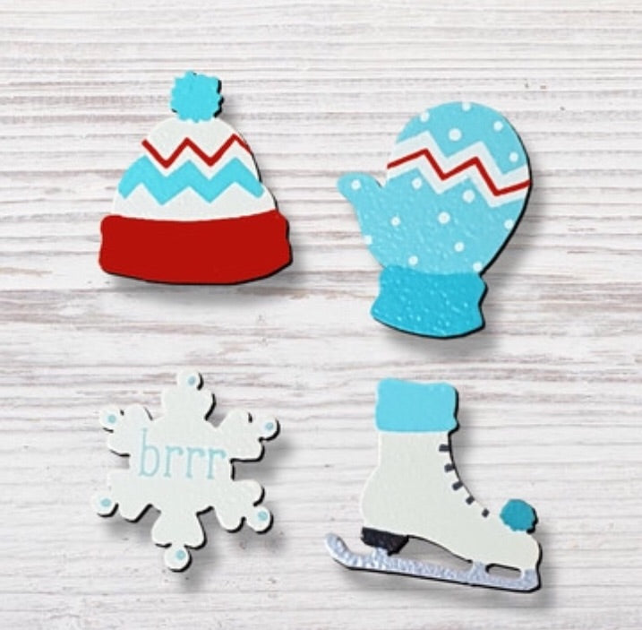 Brr Winter Magnets