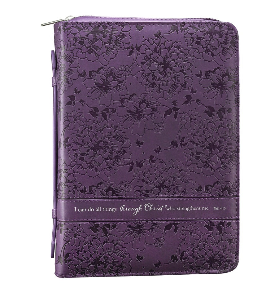 Purple Bible Cover