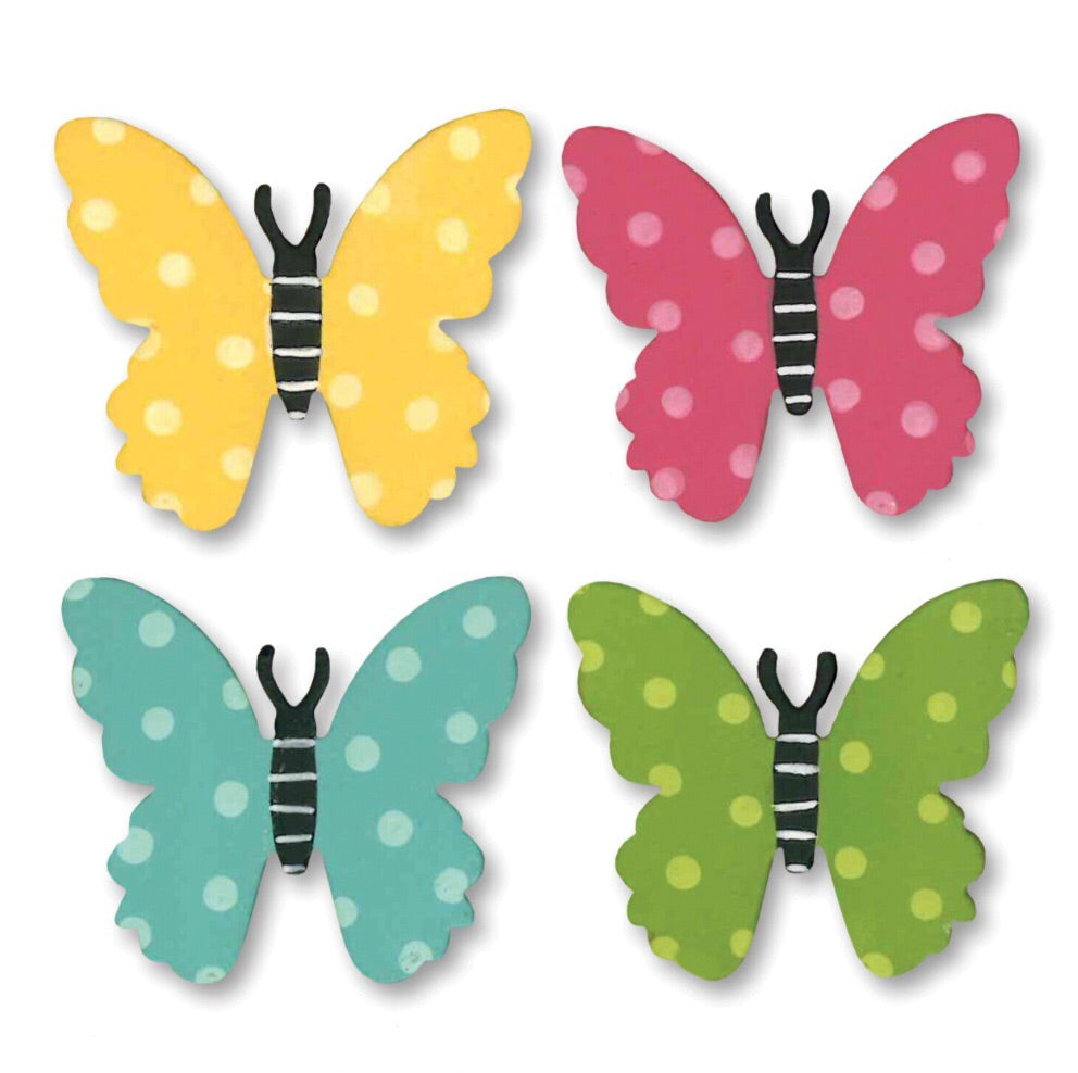 Butterfly w/Dots Magnets