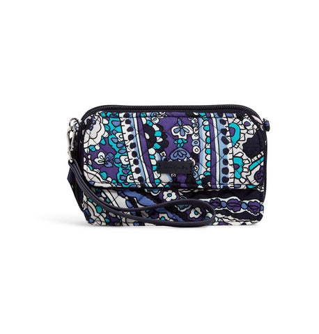 Iconic RFID All in One Crossbody- Deep Night Paisley