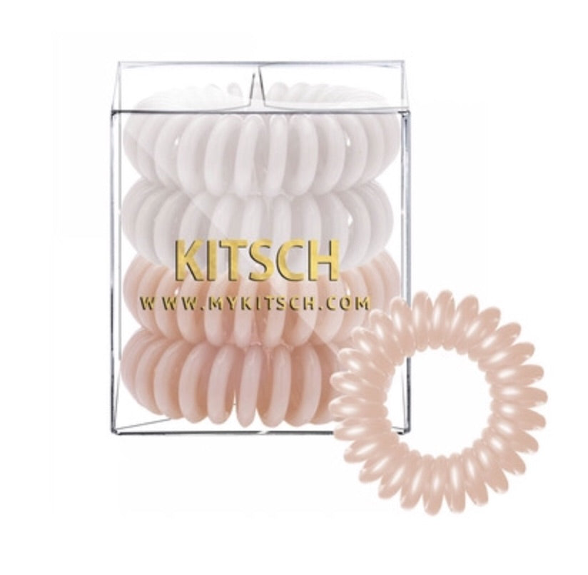 Nude Hair Coil Set