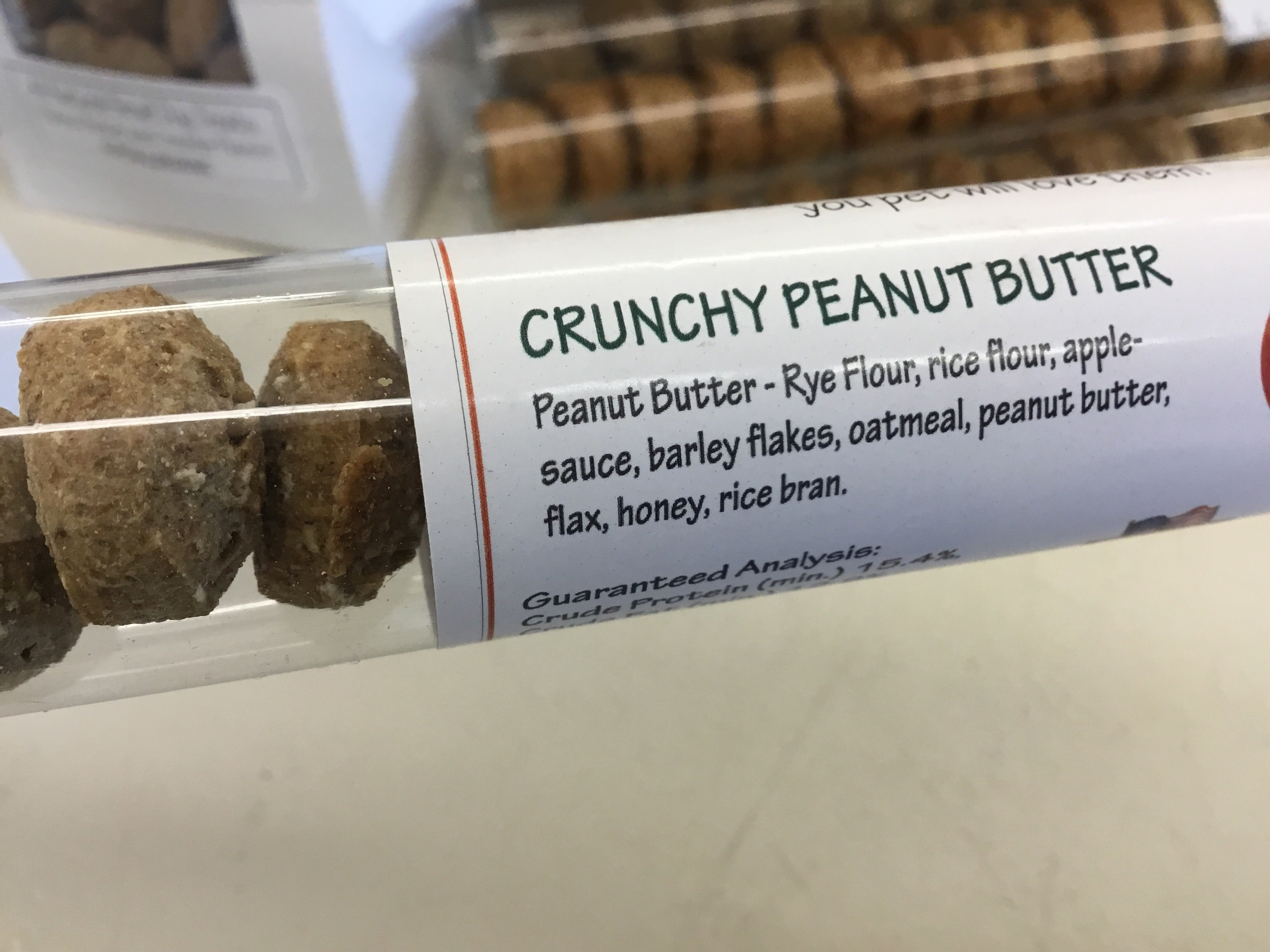 North Woods Animal Treats: Crunchy Peanut Butter Tiny Treats