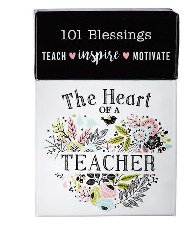 The Heart of a Teacher Cards