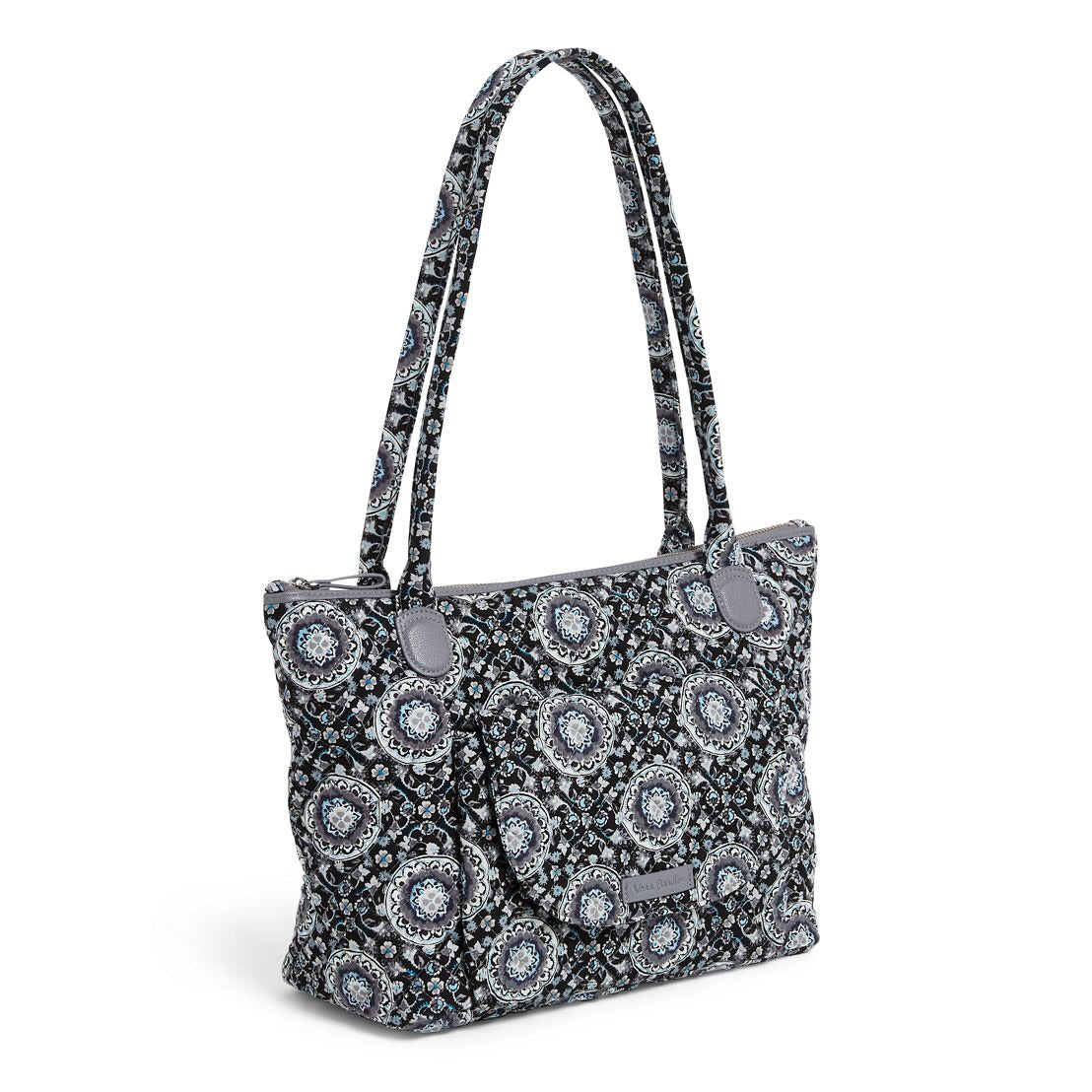 Carson East West Tote - Charcoal Medallion