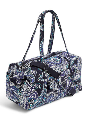 Iconic Medium Travel Duffel - Deep Night Paisley