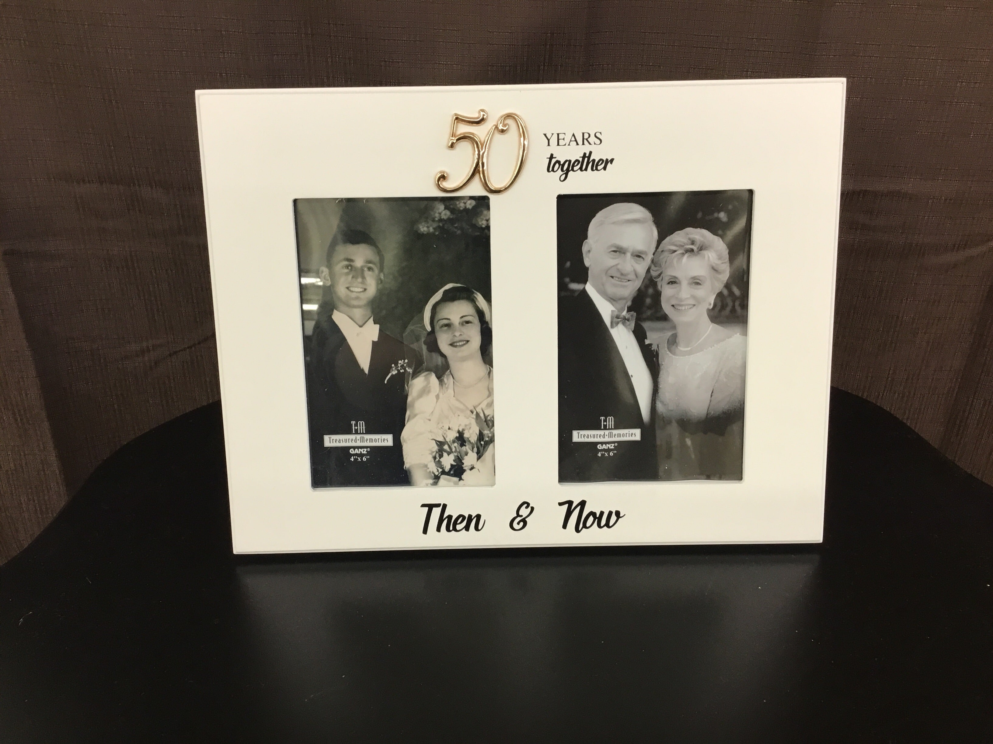 50 year Anniversary photo frame