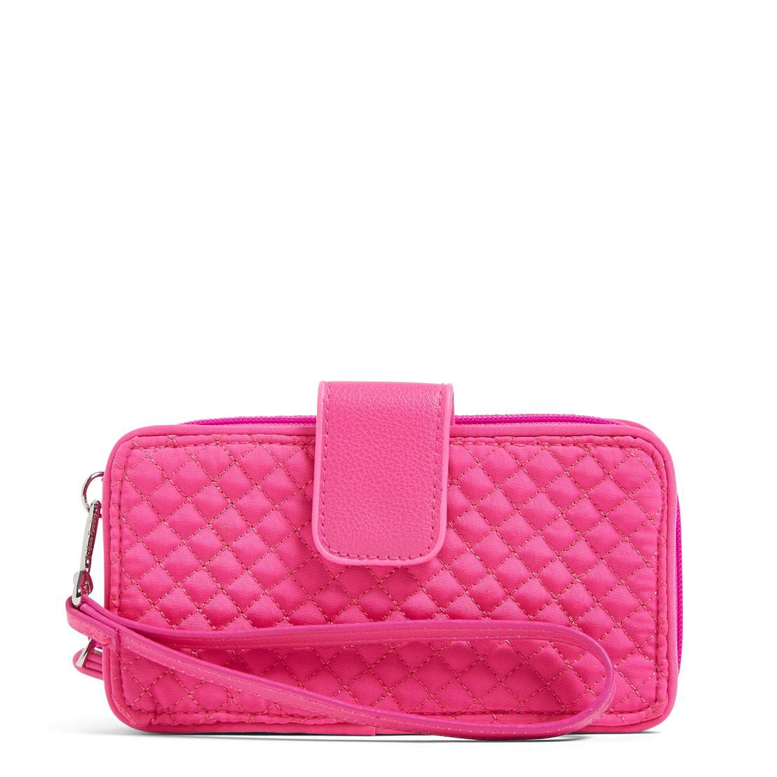 Iconic RDIF smartphone Wristlet - rose petal