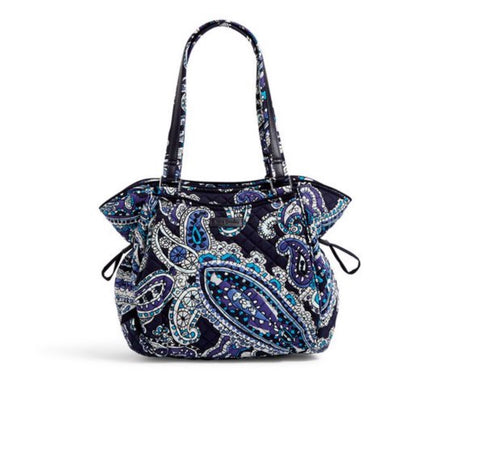 Iconic Glenna Satchel - Deep Night Paisley