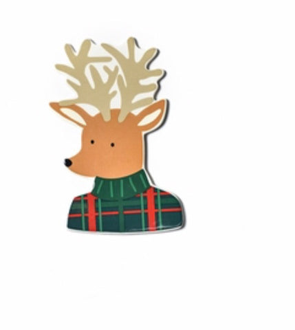 Mini Plaid Reindeer Attachment