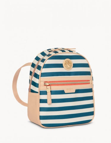 Day Backpack Navy Stripe