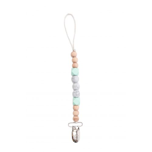 Bella Tunno Pacifier Clip Light Teal