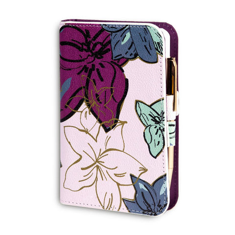 Vera Bradley Journal with Pen Falling Flowers Neutral