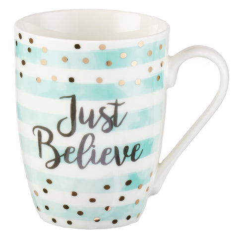 """Just Believe"" Coffee Cup"