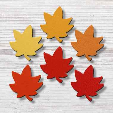 Roeda Brighten Your Life:Leaf Ombre Magnets