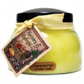 Keepers of the Light Candle- 22 oz. Lemon Butter Pound Cake Mama Jar