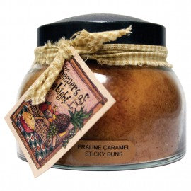 Keepers of the Light Candle- 22 oz. Praline Caramel Sticky Buns Mama Jar