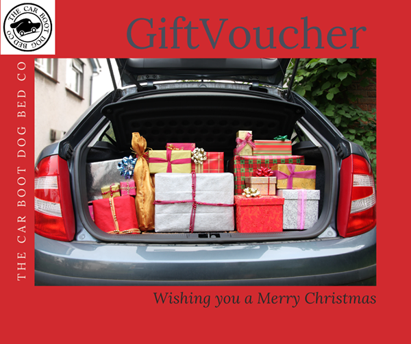 The Car Boot Dog Bed Company Gift Voucher