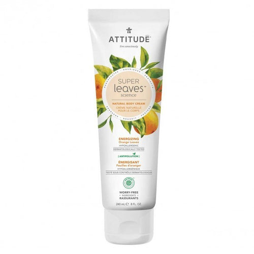 Attitude - Super Leaves - Body Cream - Energizing