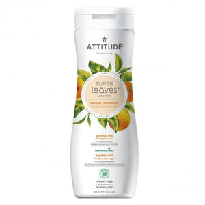 Attitude - Super Leaves - Shower Gel - Energizing