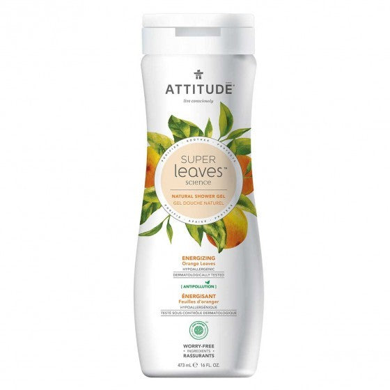 Attitude - Super Leaves - Body Wash - Energizing