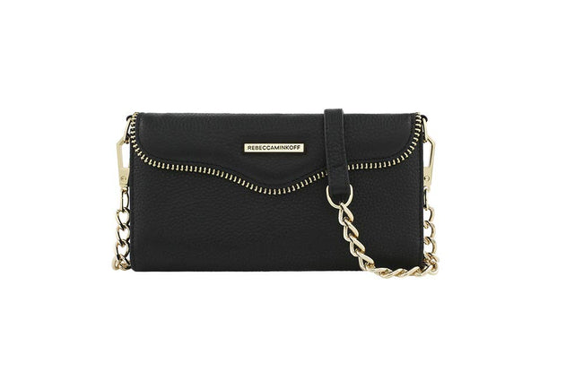 NEW Rebecca Minkoff Black M.A.B Tech Crossbody with charging