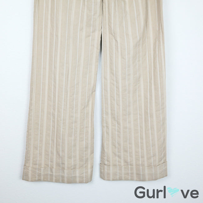 Elevenses Wide Leg Striped Pants Size 2