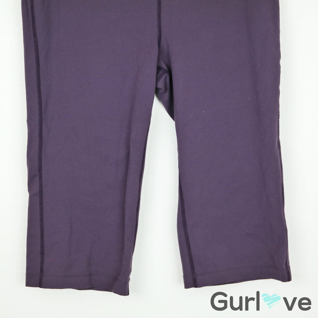 PrAna Purple Athletic Capri Pants Size M