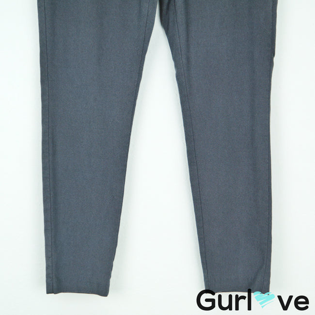 Worthington Gray Ankle Legging Pants Size M