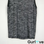 Rag & Bone/ JEAN Size XS Gray Sleeveless Mock Neck Top