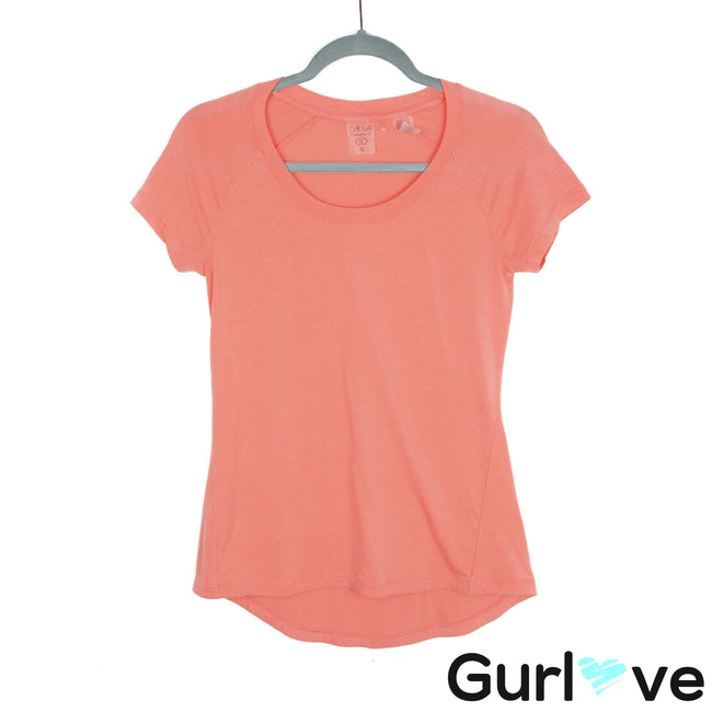 Calia by Carrie Underwood Coral Athletic Tee Size S