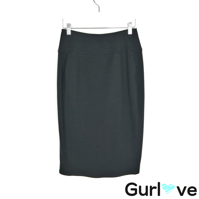 Sympli Black Scuba Stretch Pencil Skirt Size 6