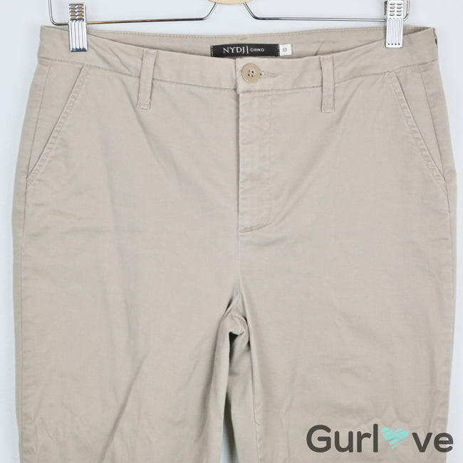 SALE NYDJ Chino Tan Pants Size 8