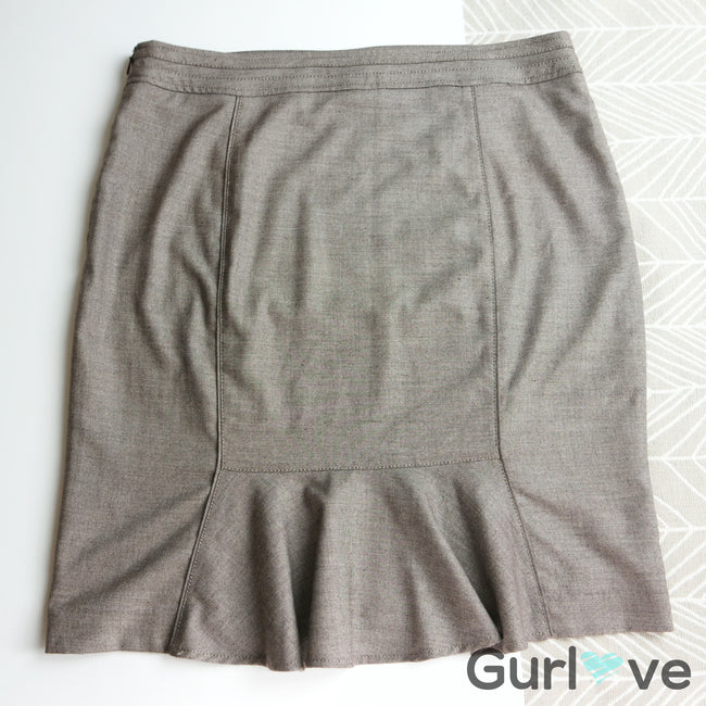 WHBM Petite Brown Skirt Size 14P